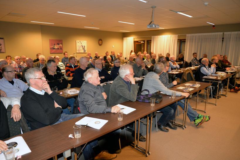 Deltagande medlemmar vid Nbl stks jubileumsårsmöte.