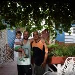 Värdfamiljen i Trinidad