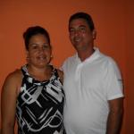 En värdfamilj i Trinidad