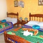 Ett av rummen i Trinidad