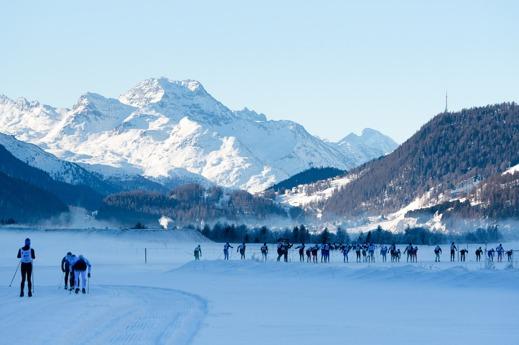 Hela dalgången i Engadin, från Maloja - St Moritz - Pontrestina till Zouz, är fullkomligt underbar.