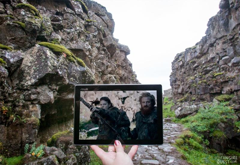 I Thingvellir spelades Game of Thrones in och här hade världens första demokratiskt valda parlament sina möte från år 930.