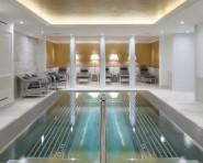 På hotellet finns både spa och gym.