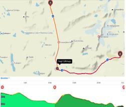 Etapp 5 och 6: Sälka  - Singi - Kebnekaise, 25 km