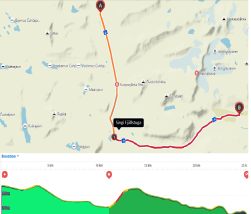 Stages 5 and 6: Sälka  - Singi - Kebnekaise, 25 km