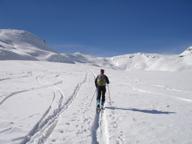No congestion wintertime on the King´s Trail