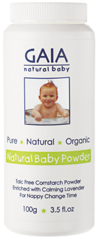 Natural Baby Powder - Natural baby powder