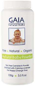 Natural Baby Powder - Natural baby powder