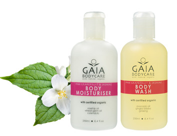 Body Wash & Bodylotion - Pink Grapefruit & Jasmine - Bodywash and bodylotion pink