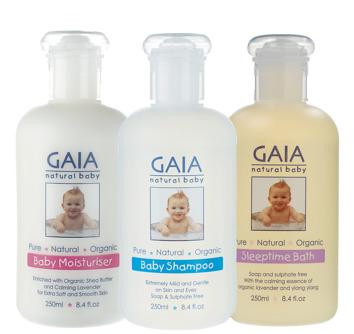 Baby trio - bodylotion,schampo, skumbad/duschtvål