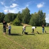 Ringträning med barnen :) Tack Josephiné Veen Huis för hjälpen! Foto: Cherrie Granlund
