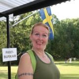 Vår glada sponsor och butikschef på Arken Zoo i Barkarby! :D  Foto: Steffi Tjernberg