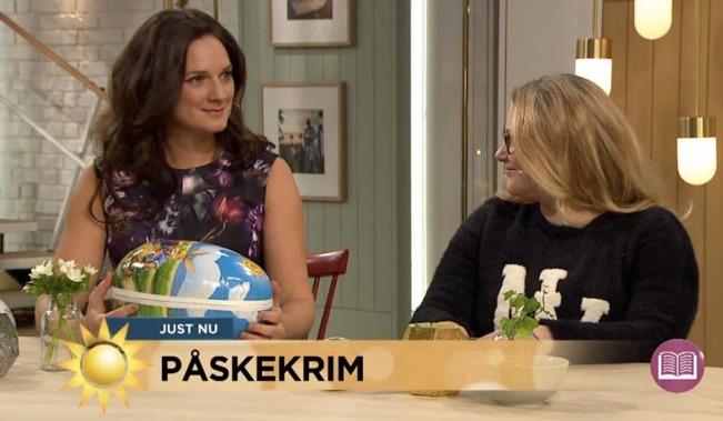TV4 Nyhetsmorgon den 25 mars 2016.