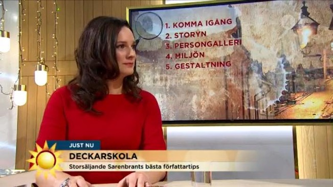 TV4 Nyhetsmorgon 6 december 2015.