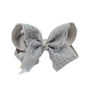 Lilly Bow Lace Grå