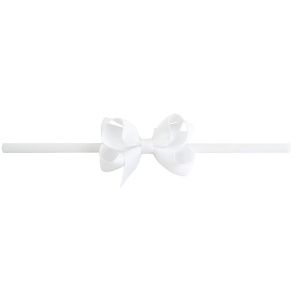 Lilly Bow Mini hårband vit