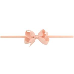 Lilly Bow Mini hårband ljusrosa