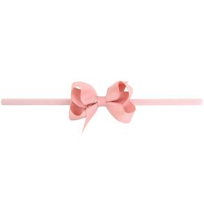 Lilly Bow Mini hårband plommon