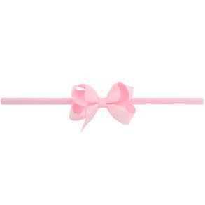 Lilly Bow Mini hårband rosa