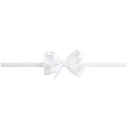 Lilly Bow Mini hårband vit
