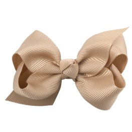 Lilly Bow Beige