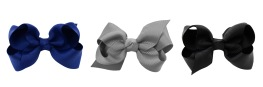 Lilly Bow 3-pack Dark