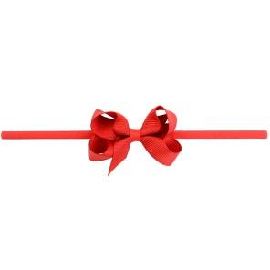 Lilly Bow Mini hårband röd