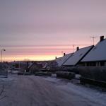 Väldig fin vintermorgon