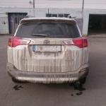 Bilen före tvättning