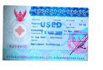 Visum till Thailand