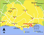 Kartan visar utflyktsmål
