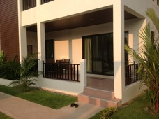 Balkong på lägenhet på Palm Leaf Thailand