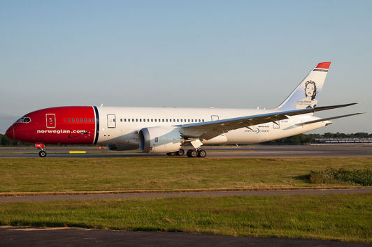 Norwegian Boeing 787 Dreamliner