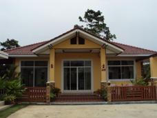 Hus på Suan Son Stranden