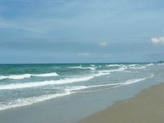 Mae Rumphung beach Thailand