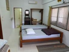 Sovrum i lägenheten Phe Village Thailand