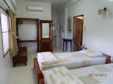 Sovrum Phe Village lägenhet Thailand