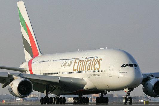 Emirates flyger från Stockholm Arlanda