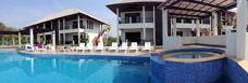 Poolen på Palm Leaf Rayong Thailand
