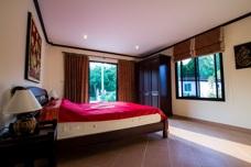 sovrum på Palm Leaf i Thailand