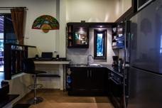 Köket i huset i Thailand