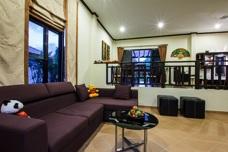 Vardagsrum i huset i Thailand