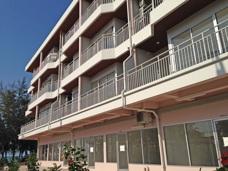 Resa till Thailand Grand Beach lägenhetshotell i Mae phim