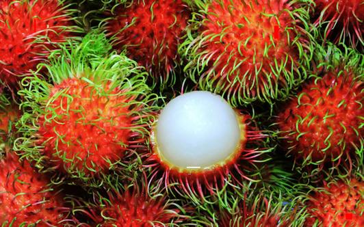 Exotisk frukt som bl.a finns i Thailand