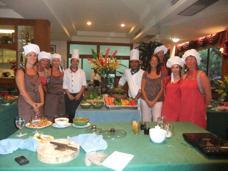 Matlagningskurs i Mae Phim