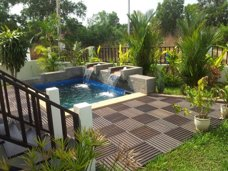 House with private pool for rent in Thailand