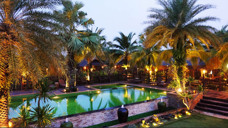Pool at Baan Baitan resort, Mae Phim Thailand