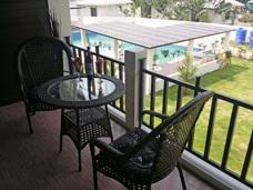 Balcony at Palm Leaf Thailand