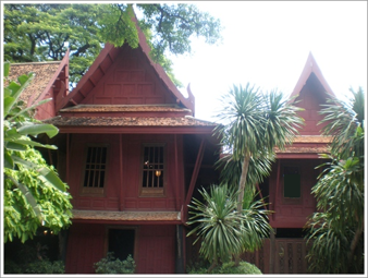 Jim Thopsons hus i Bangkok