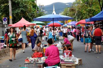 Marknad i Thailand